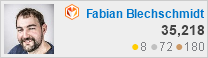 profile for Fabian Blechschmidt at Magento